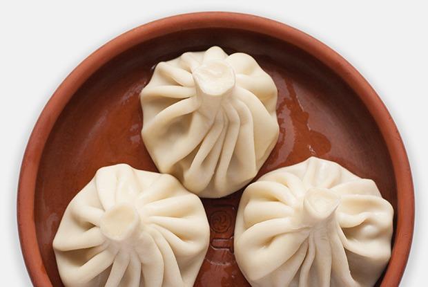Хинкали с мясом  и зеленью — Рецепты шефов на The Village