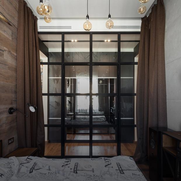 Стильный лофт в сталинке в Хамовниках — Квартира недели на The Village