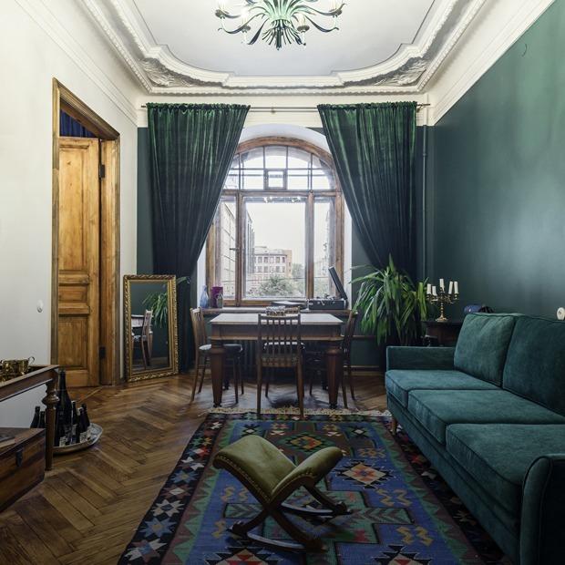 Квартира с историческими интерьерами на Старо-Невском — Квартира недели на The Village