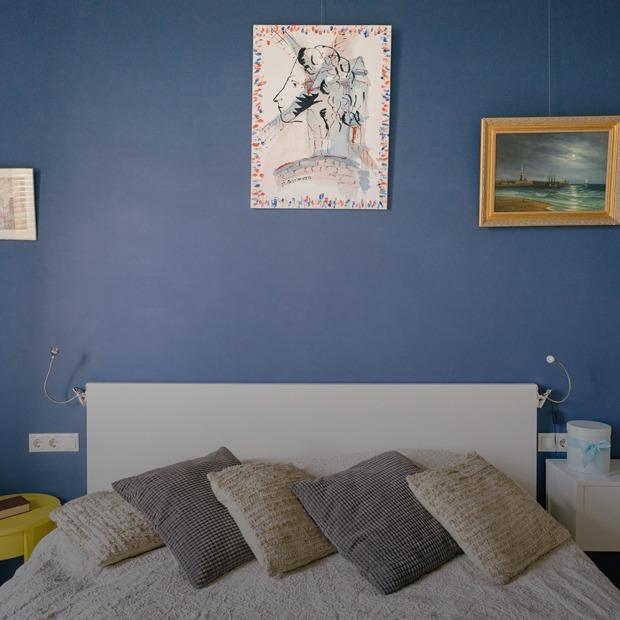 Яркая квартира с антресолью в районе Арбата — Квартира недели на The Village