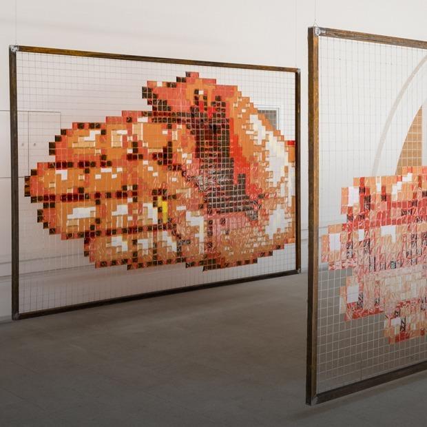Стрит-арт в «Манеже»: Что смотреть на выставке «Части стен»  — Искусство на The Village