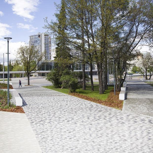 Парк у «Екатеринбург Арены»: От концепции до Чемпионата — Архитектура на The Village