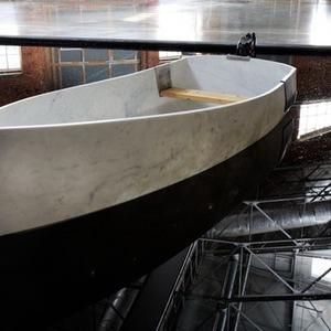 В Голицынский пруд парка Горького запустят мраморную лодку Фабио Виале — Парк Горького на The Village