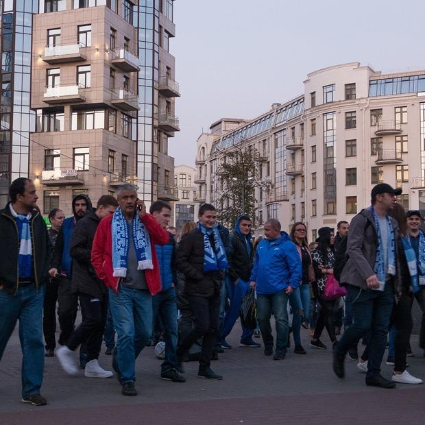 Как Крестовский остров живет в дни матчей на новом стадионе — Фоторепортаж на The Village