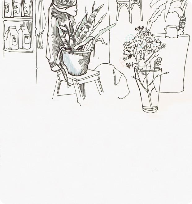 Клуб рисовальщиков: Кофейня LES — Клуб рисовальщиков на The Village