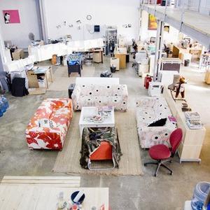 Офис недели: The Creative Factory — Интерьер недели на The Village