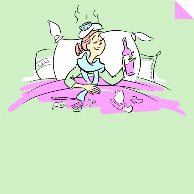 Можно ли вылечить простуду водкой с перцем?