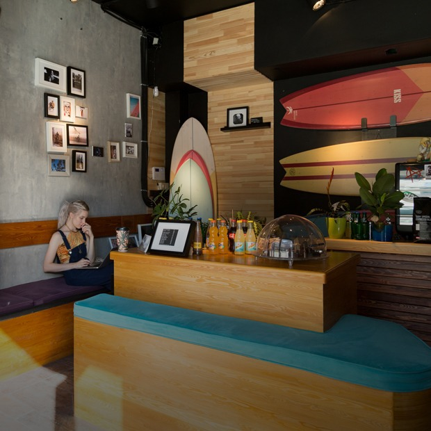 Кофейня Surf Coffee на Мясницкой улице — Место на The Village