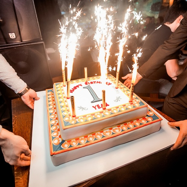 Фоторепортаж. Ресторан Barceloneta отметил день рождения