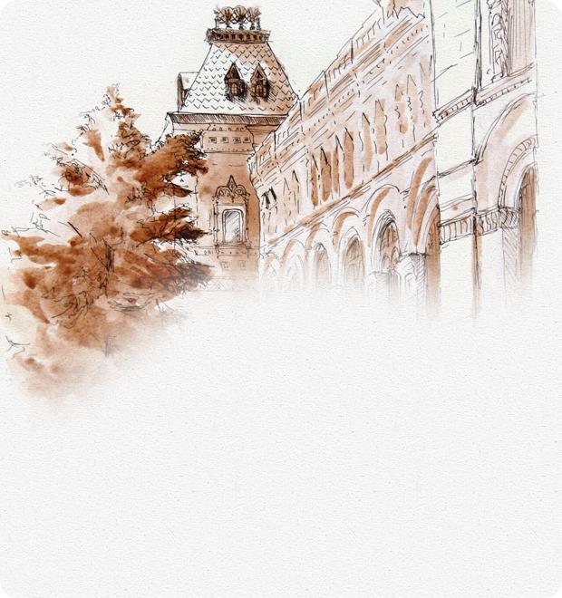 Клуб рисовальщиков: ГУМ — Клуб рисовальщиков на The Village