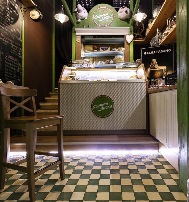 Новое место: Магазин «Сырная лавка»  — Новое место на The Village