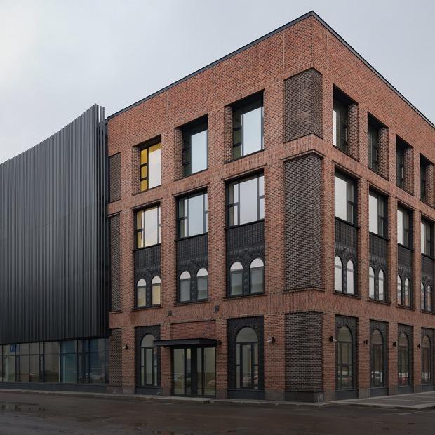 В Петербурге построили очень красивый бизнес-центр. Вот как он выглядит  — Архитектура на The Village