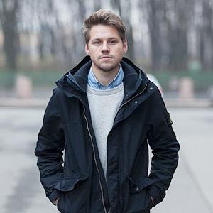 Внешний вид (Петербург): Илья Вахошкин, сотрудник магазина Mint — Внешний вид на The Village