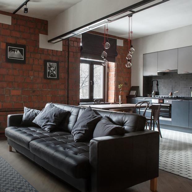 Трёхкомнатная квартира для холостяка на Тишинке — Квартира недели на The Village