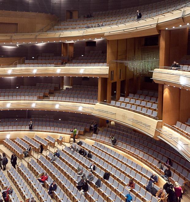Фоторепортаж: Вторая сцена Мариинского театра изнутри — Фоторепортаж на The Village