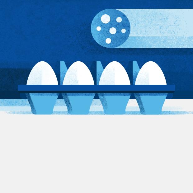 Правда ли, что одно яйцо содержит столько же жиров, сколько 1/2 фунта мяса?