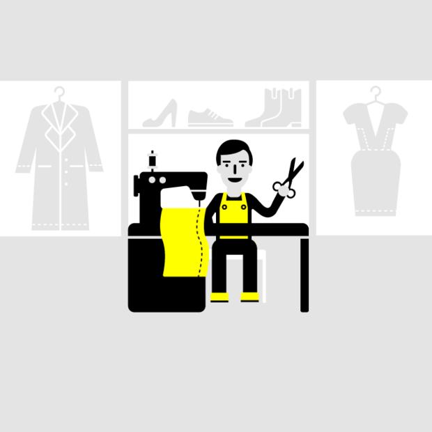 Начни бизнес: Ремонт одежды