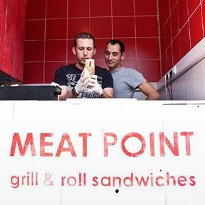 Новое место: Киоск с турецкой уличной едой Meat Рoint — Новое место на The Village