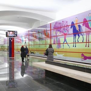 Новые станции метро «Лесопарковая» и «Битцевский парк» — Фоторепортаж на The Village