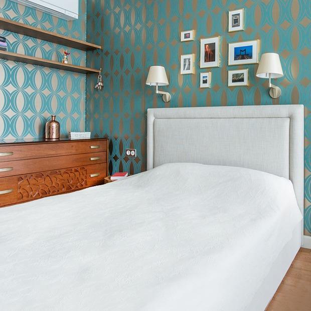 Трёхкомнатная квартира в духе модернизма на «Октябрьском поле» — Квартира недели на The Village