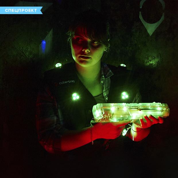 Геймеры против военных:  Битва в лазертаге во Владивостоке — Спецпроекты на The Village