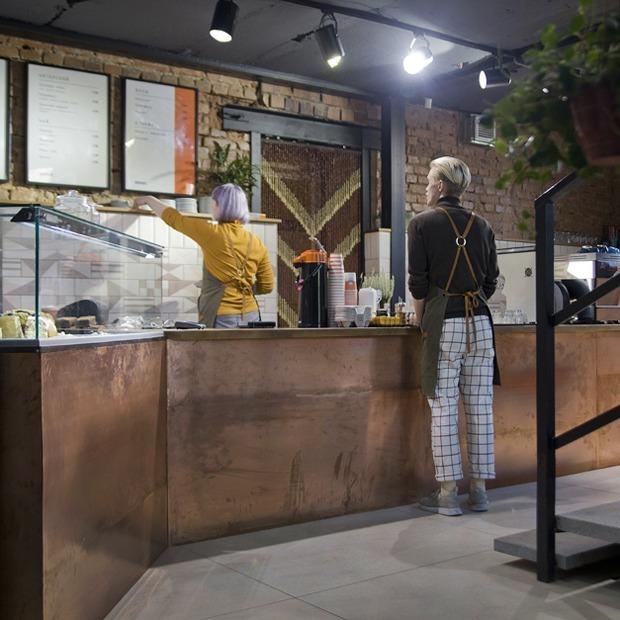 Кофейня «Бродский» у Дендрария на Первомайской — Место на The Village