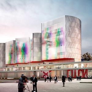 Три проекта нового здания ГЦСИ