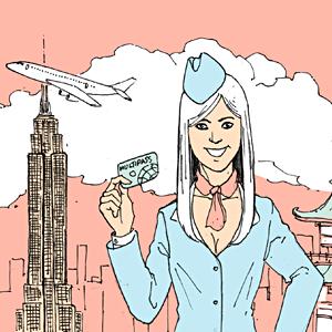 Есть вопрос: «Какие визы получают стюардессы?» — Есть вопрос на The Village