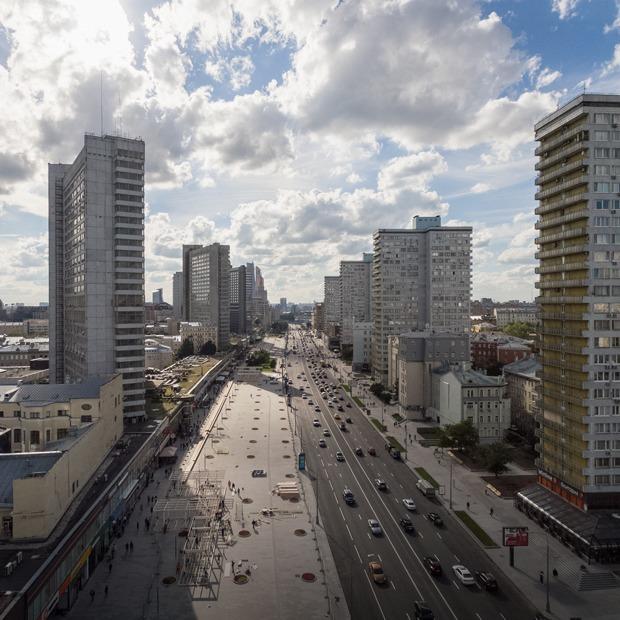 Как выглядят московские улицы после ремонта