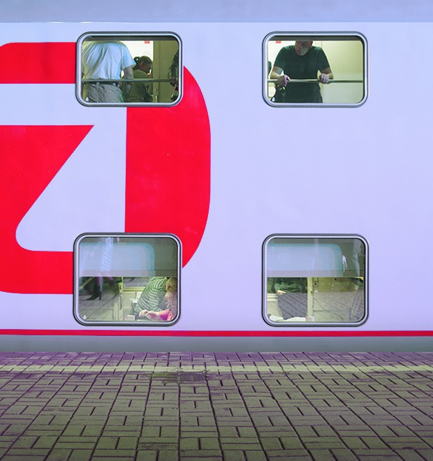 Фото дня: Первый в России двухэтажный поезд — Город на The Village