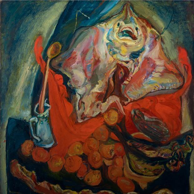 Алкоголь, красный цвет и бычьи туши: Что нужно знать о творчестве Хаима Сутина — Искусство на The Village