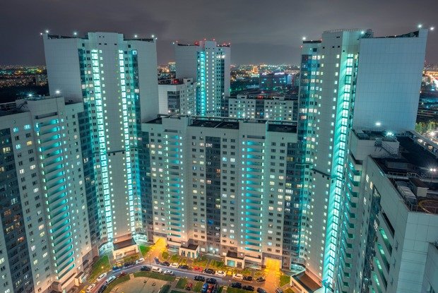 Насколько различаются цены на жильё в разных районах Москвы