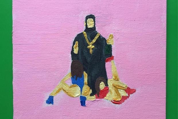 Искусство бунта и обложка «Раскрасок для взрослых» в инстаграме Никиты Жижанова — В закладки на The Village