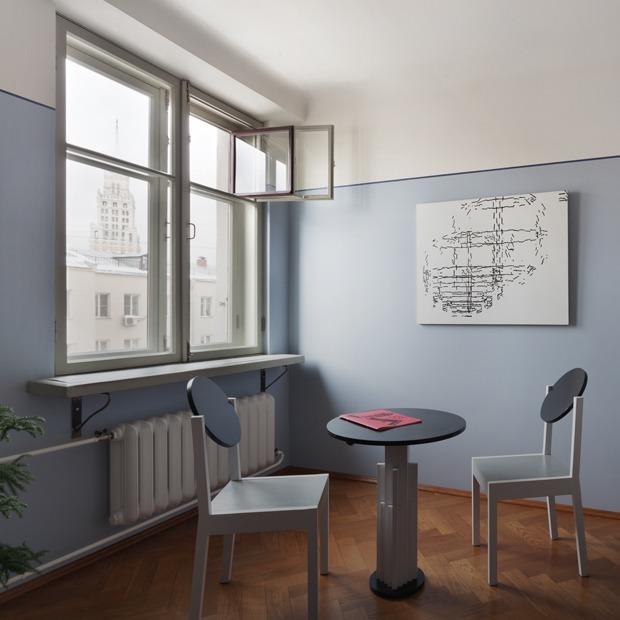 Конструктивистская квартира на Новой Басманной