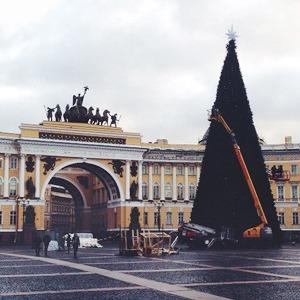 Фото дня: Искусственная ёлка на Дворцовой площади — Город на The Village