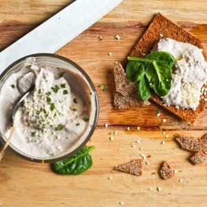 Постная намазка из тофу и грецких орехов — Рецепты читателей на The Village