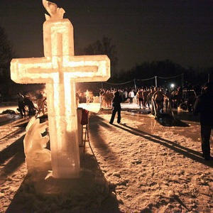 Полное погружение: Крещенское купание в Москве — Люди в городе на The Village