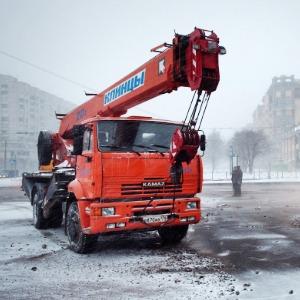 Фоторепортаж: Прорыв труб на «Приморской» — Фоторепортаж на The Village