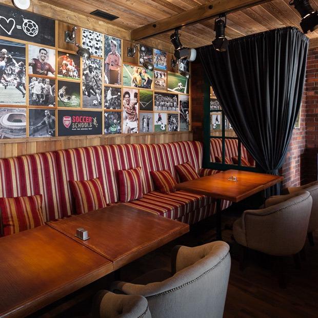 Футбольный бар-ресторан Soccer Place на Добролюбова — Новое место на The Village