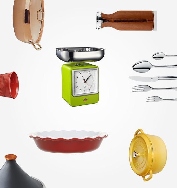 5 магазинов с посудой и кухонной утварью