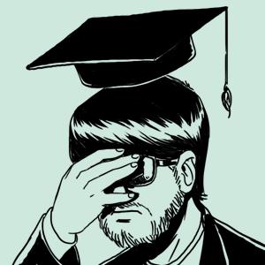 Неизвестный горожанин: Годы студенческие