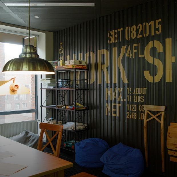 Где и как работают дизайнеры Сбербанка — Интерьер недели на The Village