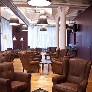 Офис недели (Москва): Клубный офис Cabinet Lounge — Интерьер недели на The Village