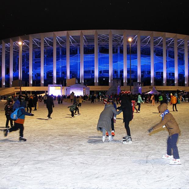 Как работает каток на стадионе «Нижний Новгород» — Гид The Village на The Village