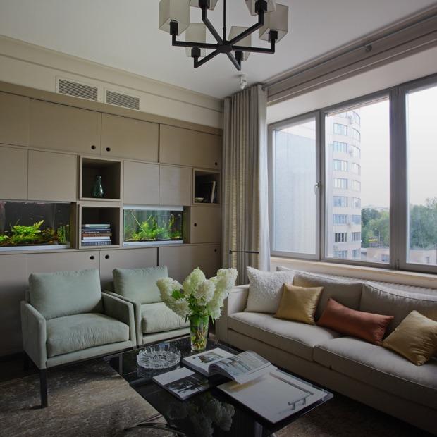 Просторная квартира с винтажной мебелью для большой семьи — Квартира недели на The Village