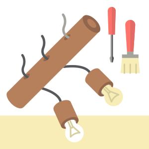 Своими руками: Сделать лампу из коряги — Вещи для дома на The Village