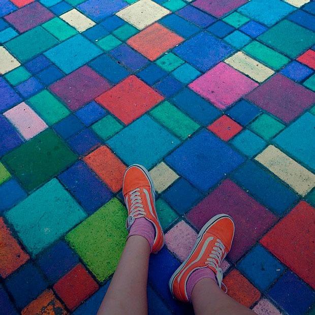 Новая яркая улица на Набережной в инстаграмах горожан — Галереи на The Village