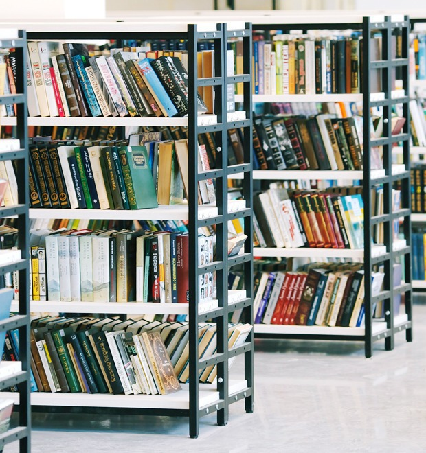 Фото дня: Как выглядит современная библиотека