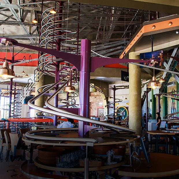 Roller-coaster: Ресторан с американскими горками в «Сочи Парке» — Место на The Village