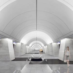Метро-2015: Как будут выглядеть 8 новых станций  — Город на The Village